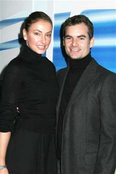 Nascars Jeff Gordon Marries Belgian Model by Just Engaged Jeff Gordon And Ingrid Vandebosch