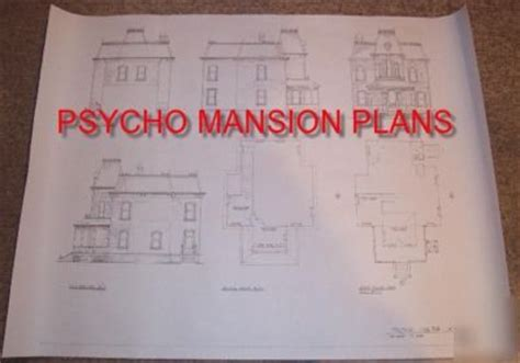psycho house floor plans psycho house plans house design plans