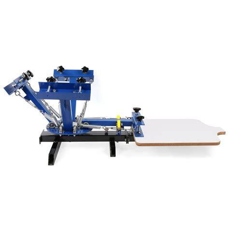 4 color press 4 color 1 station silk screen printing machine 4 1 press
