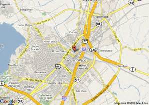 map of courtyard by marriott waco waco