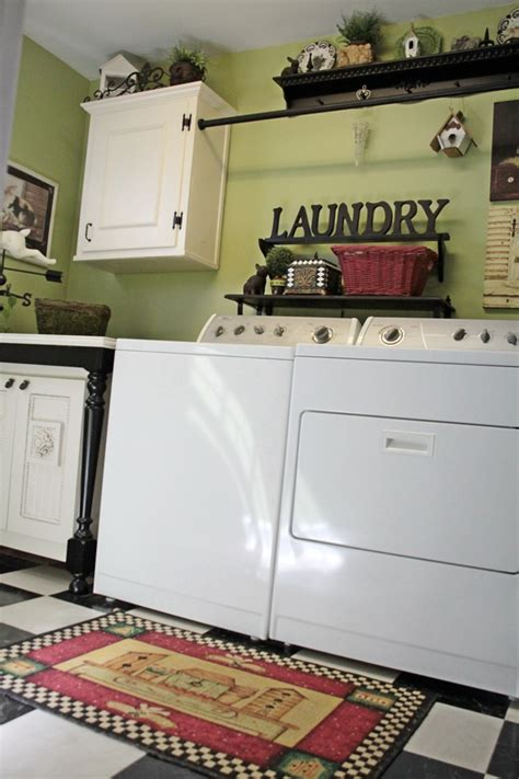Laundry Room Decorating Lime Green Laundry Room Southern Hospitality