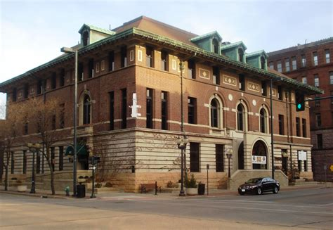 Post Office Cedar Rapids by Government Buildings On The National Register Of Historic