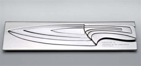 designer kitchen knives beautiful nesting knives designed by mathematics wired