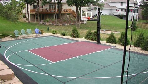 Backyard Basketball Court Price Best Backyard Basketball Court Walsall Home And