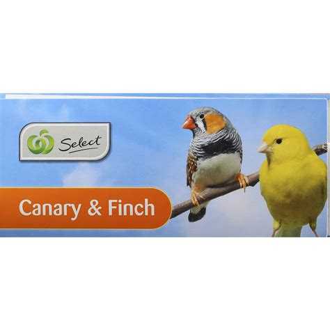 woolworths select bird food canary finch 2kg woolworths