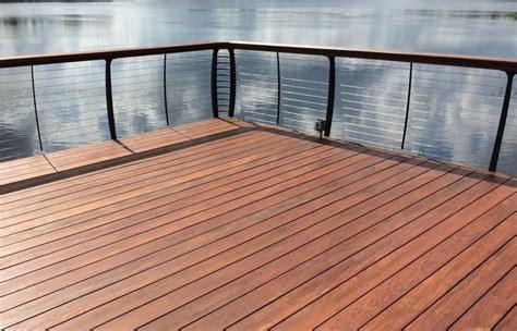 hardwood decking patio natural wood epay deck ipe cost