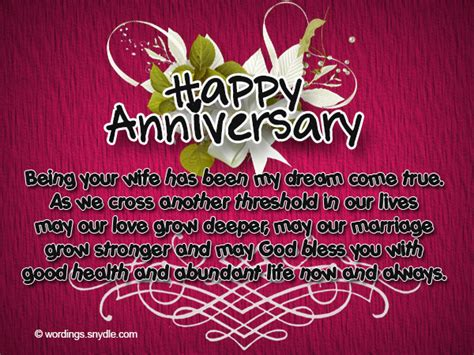 Wedding Anniversary Quotes For Hus by Happy Anniversary Husband Messages Www Pixshark