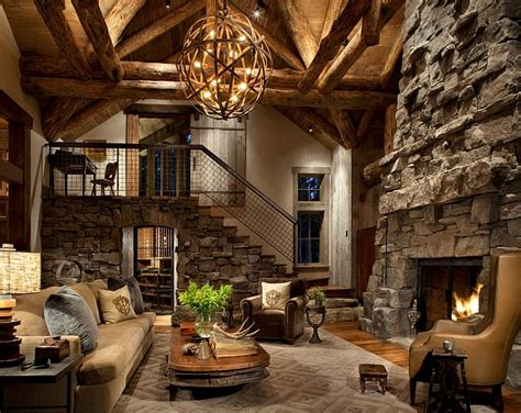 cabin living room decor 30 rustic living room ideas for a cozy organic home