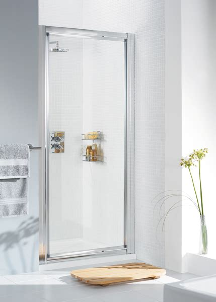 750 X 750 Quadrant Shower Enclosure by Lakes Classic Framed Pivot Shower Door 750 X 1850 White