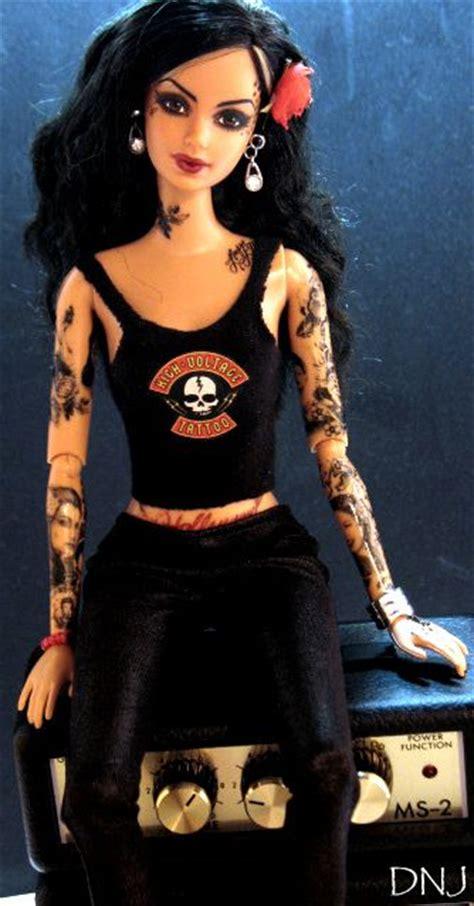 tattooed barbie barbies with tattoos