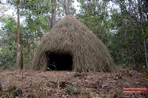 Grass Hut Primitive Technology How To Build A Grass Hut Recoil