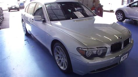 2005 bmw 745li for sale 2005 bmw 745li for sale at slxi sn1191