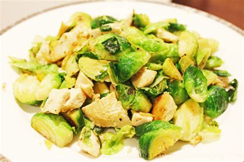 clean dinner clean recipe stir fry brussels sprout and chicken