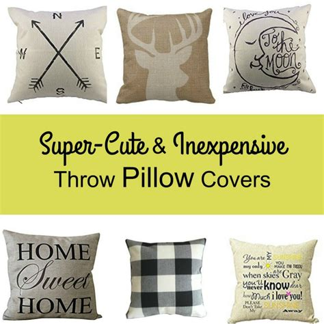Inexpensive Throw Pillow Covers inexpensive throw pillow covers