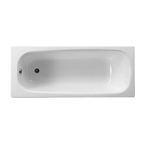 roca bathtubs roca contesa eco steel bath 1700 x 700mm uk bathrooms