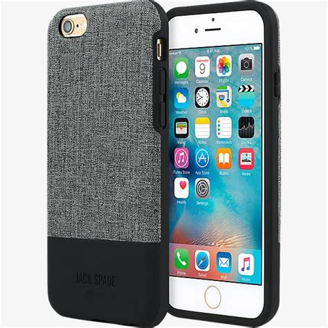 spade color block for iphone 6 6s tech oxford gray black verizon wireless