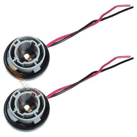 Ba15s Sockel by 2x 1156 7506 P21w Ba15s 7527 Light Bulb Wire Wiring Harness Socket Adapter Sk02 Ebay