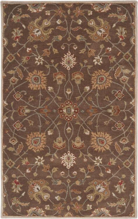 surya caesar rug surya caesar cae1086 brown area rug free shipping