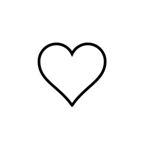 heart outline tattoo black ink small design idea jpg 900