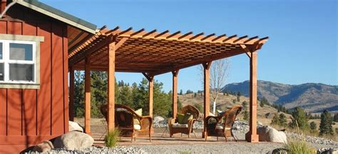 best type of wood for construction of pergola gazebo ideas