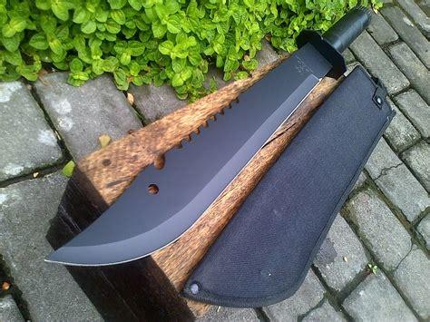 Tali Outdoor Tactical Gunung Cing black machete adhistore