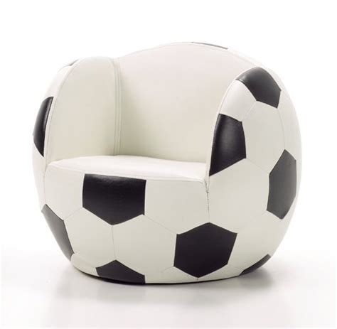 Sofa Balon sill 243 n para ni 241 os con forma de bal 243 n decoideas net