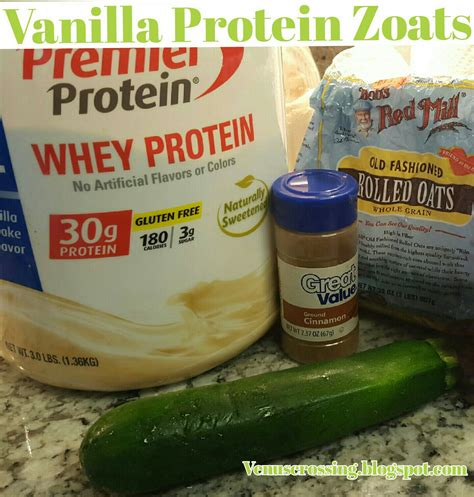protein zoats venus crossing with liss vanilla protein zoats