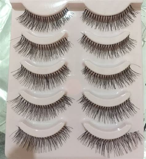 aliexpress lashes aliexpress com buy new 5 pairs handmade false eyelashes