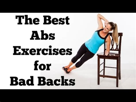 abs exercises    hurt   full  minute abs workout  bad backs