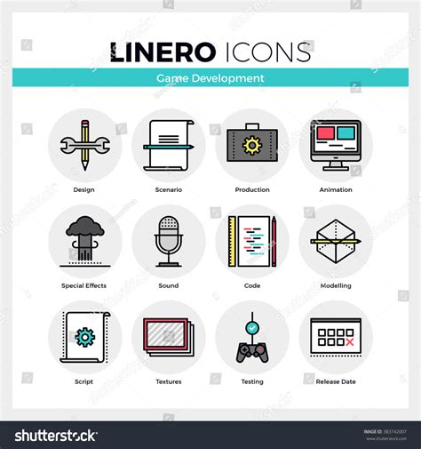 market design a linear programming approach to auctions and matching books line icons set development stock vector