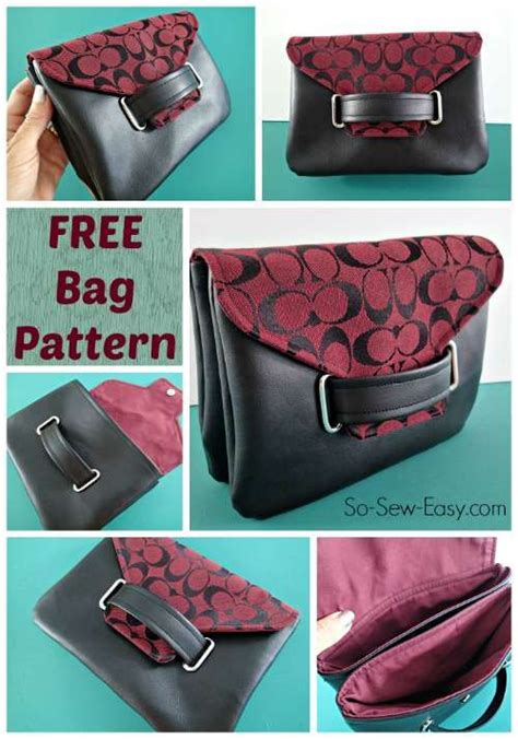 clutch purse templates the envelope clutch bag free bag pattern bags