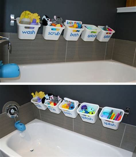 bathroom toy storage ideas 25 best ideas about bath toy storage on pinterest kids