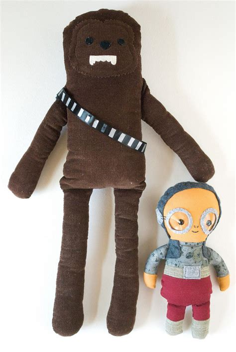 star wars inspired homemade dolls allfreesewingcom