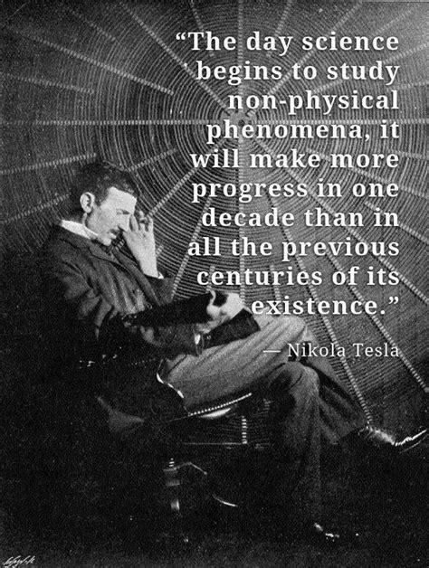 Where Did Nikola Tesla Study Nikola Tesla The Day Science Begins To Study Non