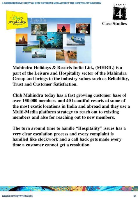 mahindra and mahindra holidays study on club mahindra holidays maybankperdanntest