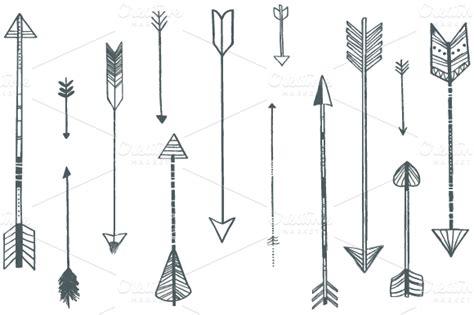 arrow pattern tumblr arrow illustrations creative market puščice