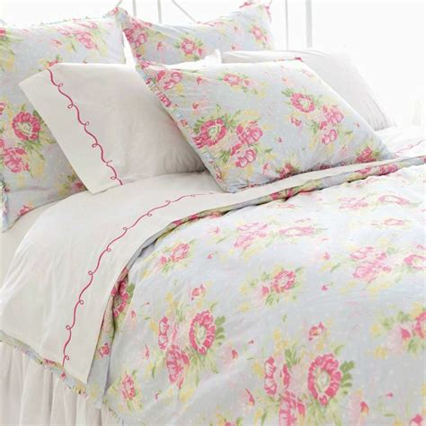 pretty beds pretty pink and pastel blue floral bedding decor and