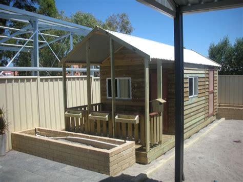 backyard timber cubbies sheds studios