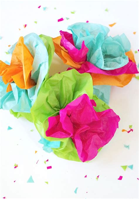 tissue paper flowers val event gal