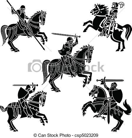 vetor de dois cavaleiros imagens de stock royalty free vetor eps de her 225 ldica cavaleiros cavaleiro 237 cone
