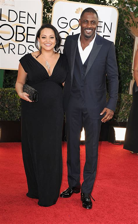 wht actors with black wives or girl friends idris elba escorts pregnant girlfriend to golden globes