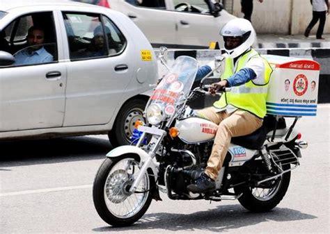 Two Wheeler Motorcycle by Bajaj Avenger Two Wheeler Motorcycle Bike Ambulances 005