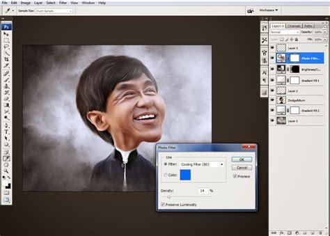 membuat video karikatur cara membuat karikatur dengan photoshop adi suhadi blogs
