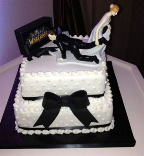 Hochzeitstorte Gamer by 10 Great Gamer Wedding Cakes Gamesfinity