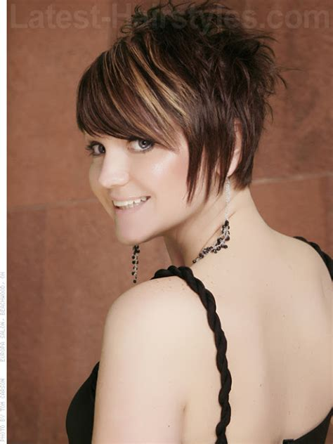 short at back longer at front choppy womens hair latest short choppy hairstyles 2012 fashion designer quot