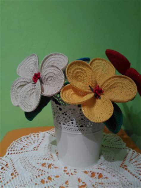 fiore cotone fiore uncinetto in cotone fatto a mano per la casa e per