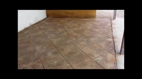 How to Pour a Concrete Skim Coat Overlay   YouTube
