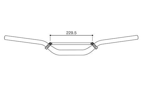 traversino manubrio moto traversino manubrio rizoma ma108b in vari accessori manubrio