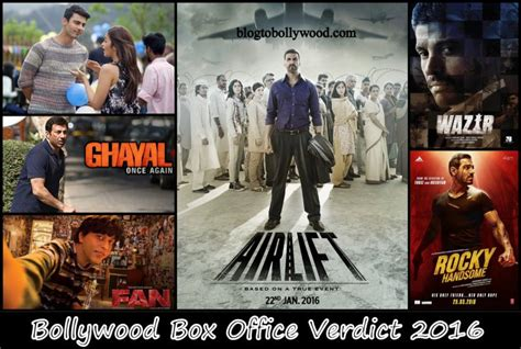 hindi movies box office verdict 2016 bollywood box office collection report 2016 verdict