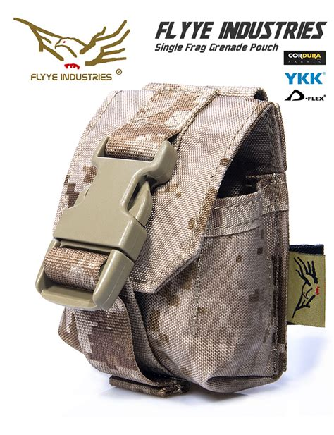 molle system accessories flyye attack grenades tactical vest bag the molle system